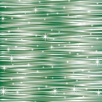 Glittering stream line (green)
