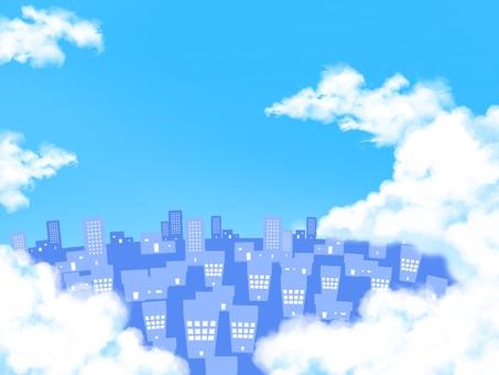 A cloud city