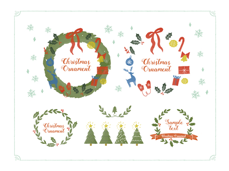 Postcard Christmas set