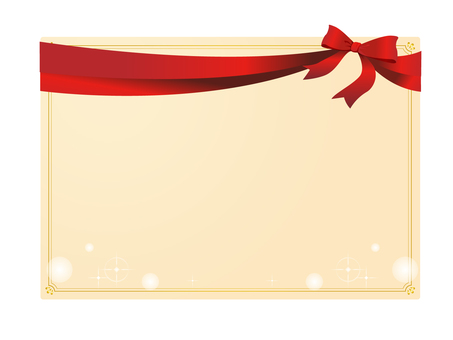 Ribbon card 2
