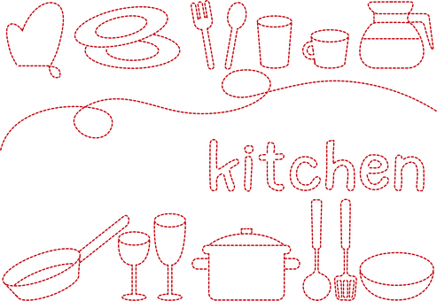 Embroidery _ kitchen