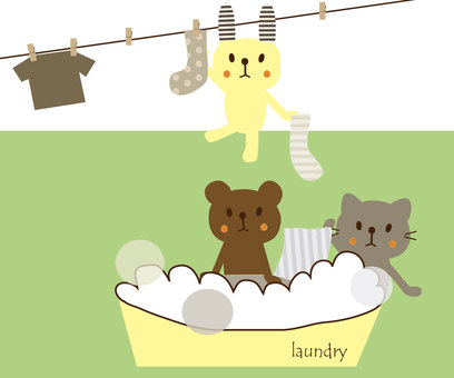Let's do the laundry ★