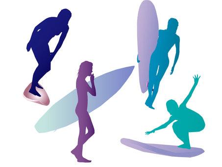 Surfer girl 08