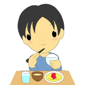 식사 · 남자