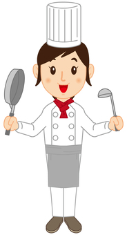 Chef's lady