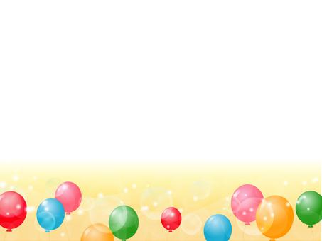 Balloon decorative frame 6