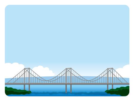 Background frame (13) Rainbow Bridge Daytime