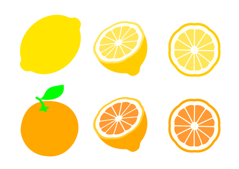 Lemon · Orange