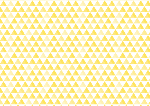 Seamless pattern triangles background yellow