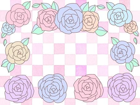 Rose material set