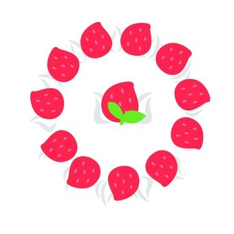 草莓水果蛋糕1孔