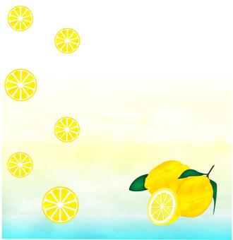 レモン_水彩風2