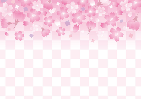 Cherry background material 02