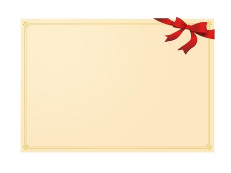 Ribbon card 3