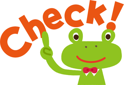 Frog check!