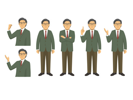 Businessman - set 4