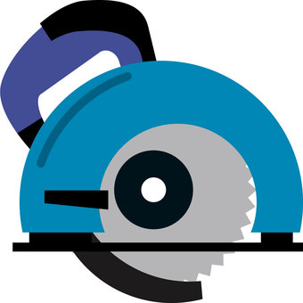 Electric saw (round shape)