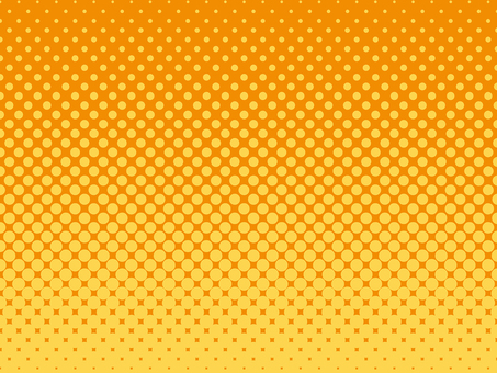 Halftone background material (yellow × orange)