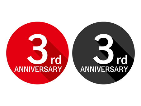 Anniversary Label 3rd Anniversary 3rd