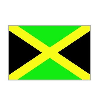 National flag Jamaica