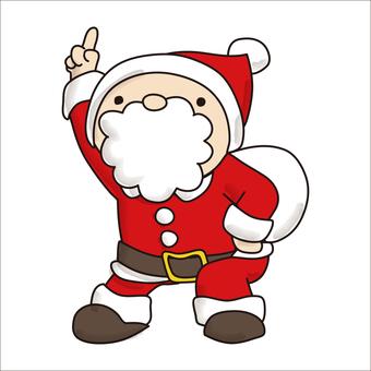 Pointing Santa 2