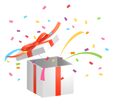 Present box · Confetti 2