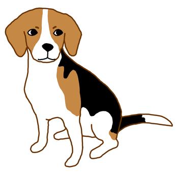 鐵板燒的小獵犬