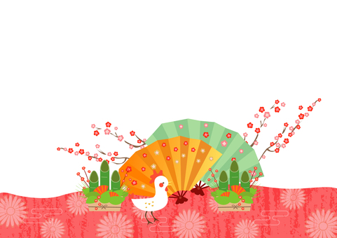 Japanese style of Rooster Year 10