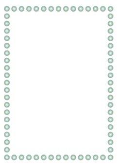 Black pearl frame