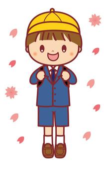 入学式 小学校 男の子