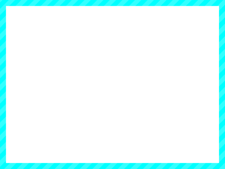 Striped frame (blue)