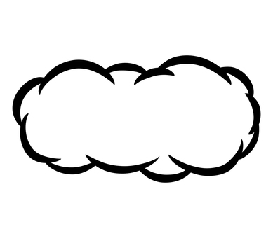 雲(水平)