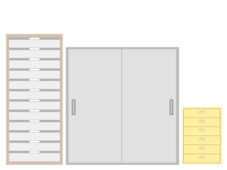 Office storage set