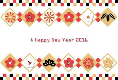 新年賀卡材料126