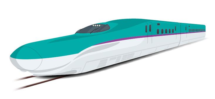 Hokkaido Shinkansen H5 series Hayabusa