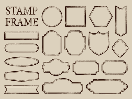 Stamp tone frame 001