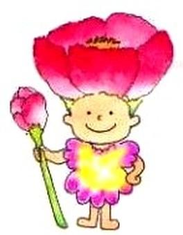 Fairy of flowers