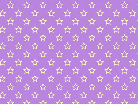 ai hollow star pattern with swatch background purple