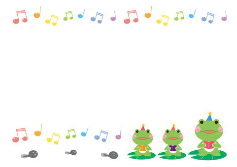 개구리의 소식 프레임