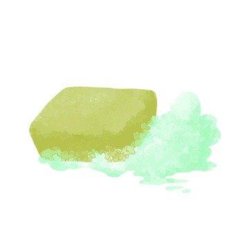 Hand-drawn wind soap
