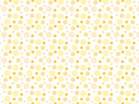 ai polka dot pattern with swatch background yellow
