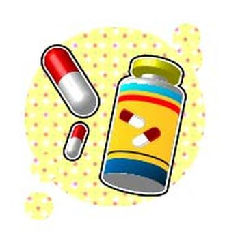 Medicine and medicine bin
