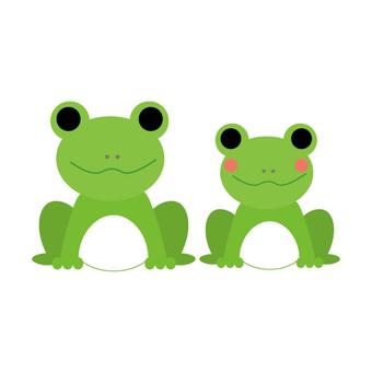 Frog's couple (couple)