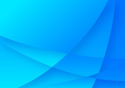 Blue curved star pattern abstract background material