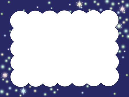 밤하늘의 프레임