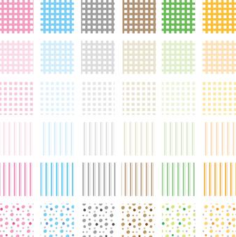 Various pattern pattern 6