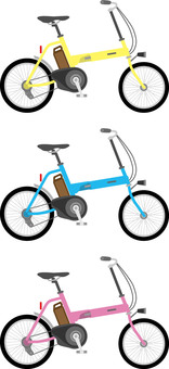 Bicycle 2 electric folding
