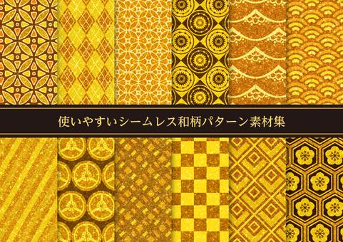 Japanese pattern / New Year / Japanese style pattern
