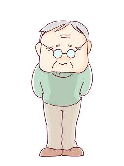 祖父全身圖