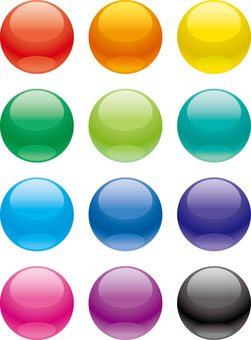 12 color spheres